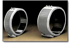 Air-Cooled Ceramic Band Heaters